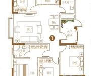 145㎡R户型  4室2厅2卫1厨
